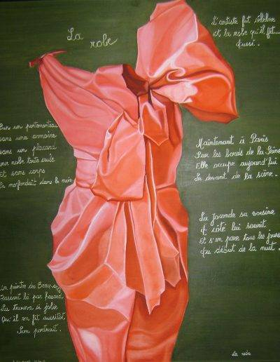 La robe 92x73