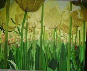 Tulipes 105x84